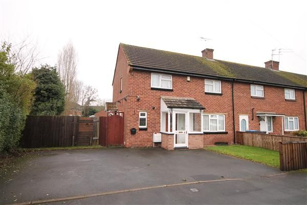 Thumbnail End terrace house for sale in Allendale Cresent, Studley, Studley