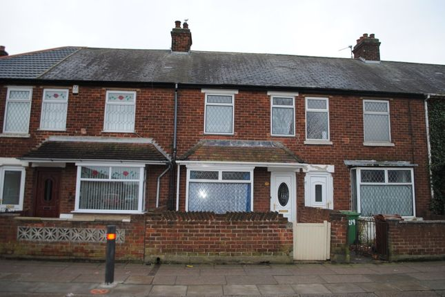 Thumbnail Terraced house to rent in Cromwell Road, Grimsby