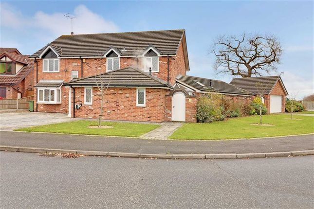 Thumbnail Detached house for sale in Peacock Avenue, Winsford, Cheshire