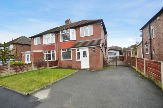 Thumbnail Semi-detached house to rent in Earle Road, Bramhall, Stockport, Cheshire