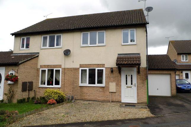 Thumbnail Semi-detached house to rent in Bramwell Close, Swindon