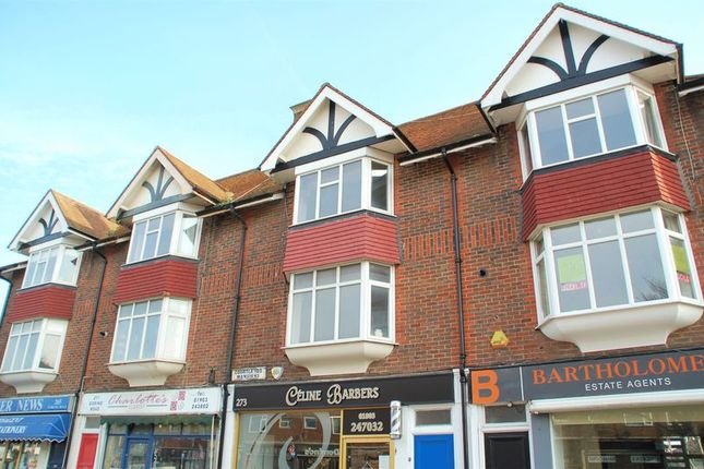 Thumbnail Maisonette to rent in Goring Road, Goring-By-Sea, Worthing