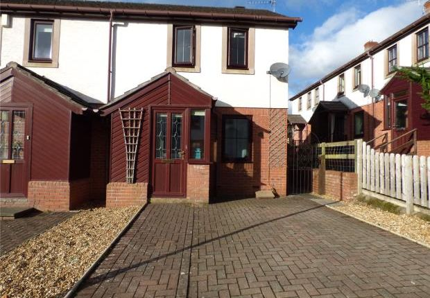 Thumbnail End terrace house to rent in Beckside Gardens, Brampton, Cumbria