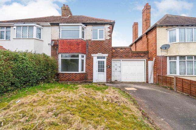 Thumbnail Semi-detached house for sale in Blakenall Heath, Bloxwich, Walsall
