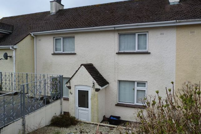 Thumbnail Terraced house to rent in Melbourne Road, Liskeard