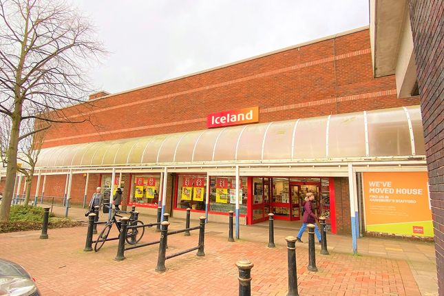 Thumbnail Commercial property for sale in Iceland Premises, Unit M, Gaolgate Place Shopping Centre, Hunters Row, Stafford, Staffordshire