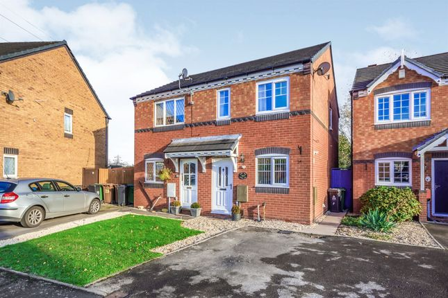 Thumbnail Semi-detached house for sale in Ludlow Lane, Walsall