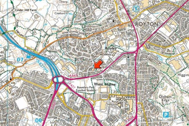 Thumbnail Land for sale in Holden Fold Lane, Royton, Oldham