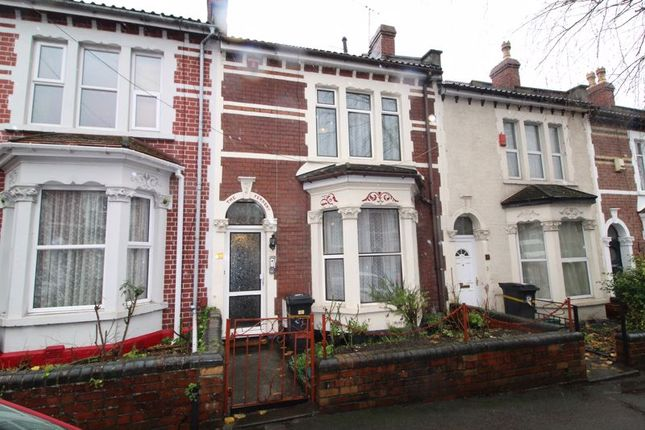 Thumbnail Terraced house for sale in Freemantle Road, Eastville, Bristol