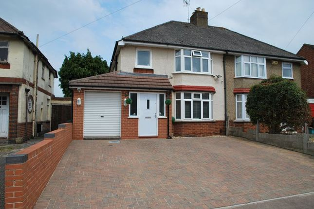 Thumbnail Semi-detached house for sale in Nine Elms Road, Longlevens, Gloucester