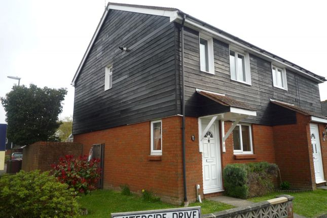 Thumbnail End terrace house to rent in Waterside Drive, Chichester