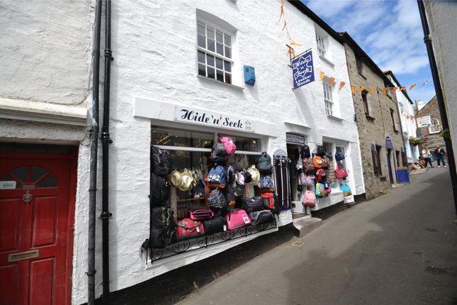 Thumbnail Flat for sale in Fore Street, Polperro, Looe, Cornwall
