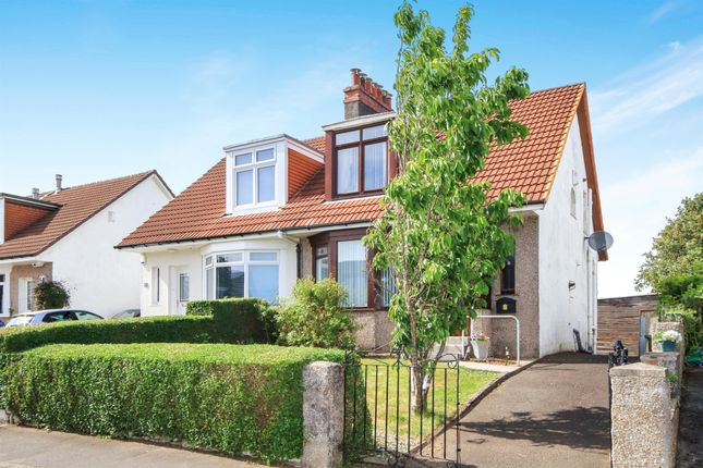 Thumbnail Semi-detached house for sale in Kingsacre Road, Kings Park, Glasgow