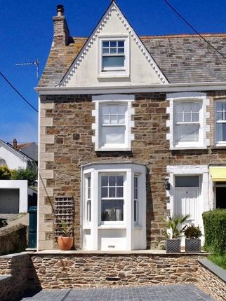 Thumbnail Semi-detached house for sale in Tywarnhayle Road, Perranporth