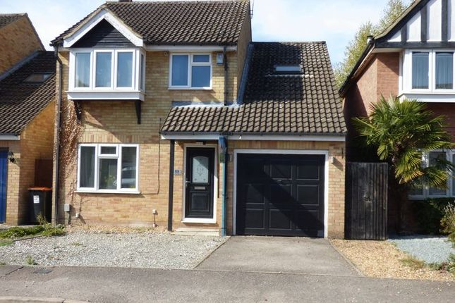 Thumbnail Detached house to rent in Halleys Way, Houghton Regis, Dunstable