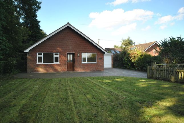 Thumbnail Detached bungalow to rent in Steel Heath, Whitchurch, Shropshire