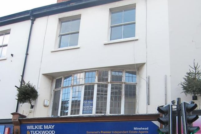 Thumbnail Flat for sale in Park Street, Minehead