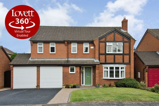 Thumbnail Detached house for sale in Keepers Close, Boley Park, Lichfield
