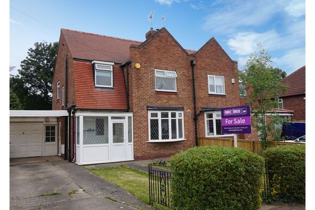 Semi-detached house for sale in The Knoll, York
