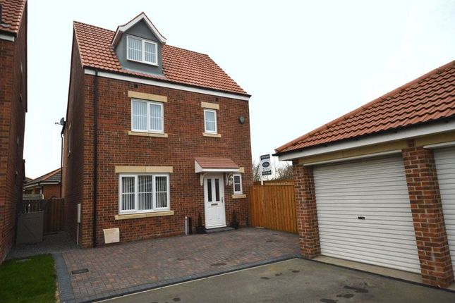 Thumbnail Detached house for sale in Capheaton Way, Seaton Delaval, Whitley Bay