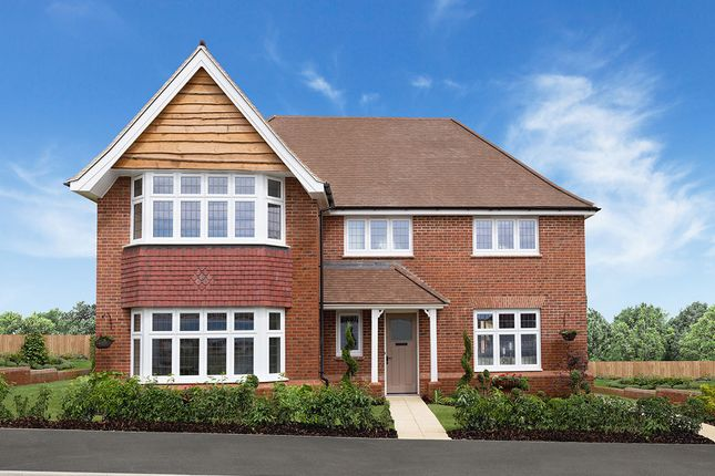 "Thumbnail 4 bed detached house for sale in ""Balmoral"" at Chester Road, Woodford, Stockport"