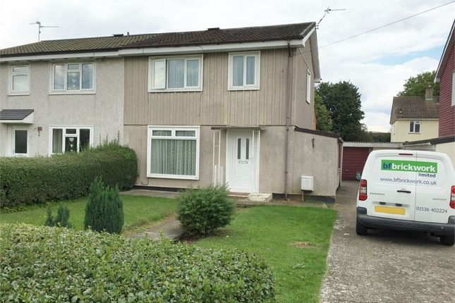 Thumbnail Semi-detached house for sale in Wharfedale Road, Corby, Northamptonshire