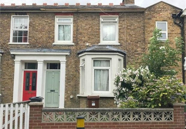 Thumbnail Terraced house for sale in Woodlands Road, Isleworth, Middlesex