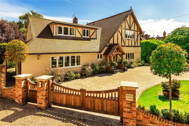 Thumbnail Detached house for sale in Chapel Road, Oxted, Surrey