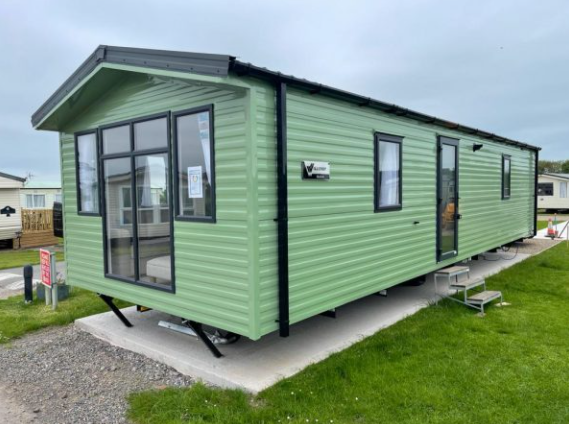Thumbnail Mobile/park home for sale in Skinburness Road, Silloth, Wigton