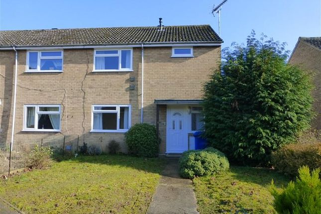 Thumbnail End terrace house to rent in Girton Close, Mildenhall, Bury St. Edmunds