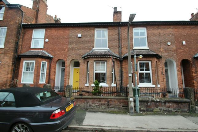 Thumbnail Terraced house to rent in Byrom Street, Altrincham