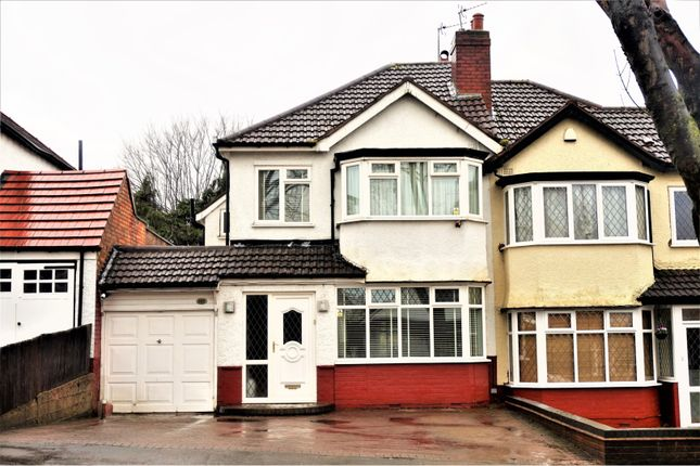 Thumbnail Semi-detached house for sale in Tixall Road, Hall Green