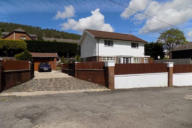 Thumbnail Detached house for sale in Railway Terrace, Cwmparc, Rhondda, Cynon, Taff.