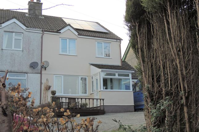 Thumbnail Semi-detached house for sale in Telephone Lane, Stenalees, St. Austell