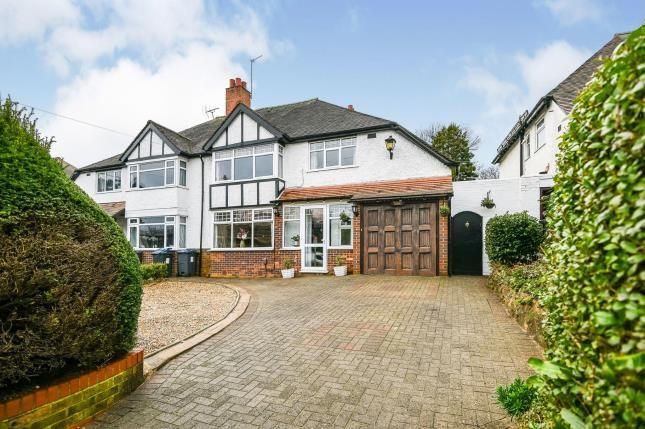 Thumbnail Semi-detached house for sale in Holly Lane, Erdington, Birmingham, West Midlands