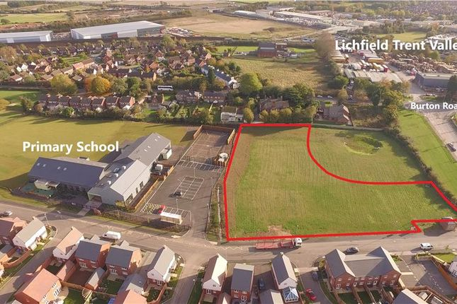Thumbnail Land for sale in Local Centre Development Opportunity, Streethay, Lichfield