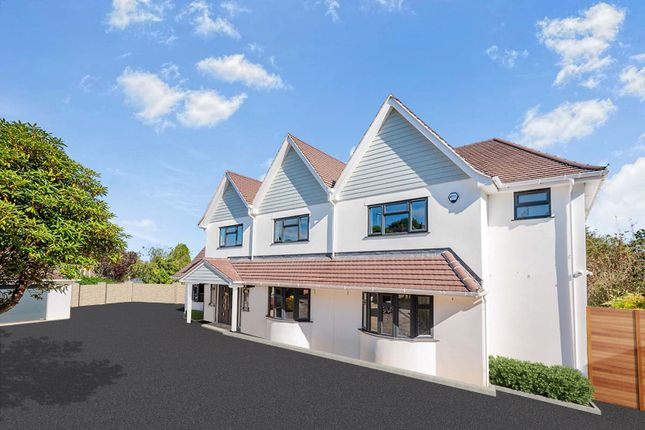 Thumbnail Detached house for sale in Powisland Drive, Plymouth