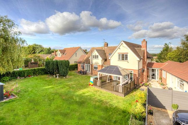 Thumbnail Detached house for sale in Abbotts Croft, Abbotts Lane, Eight Ash Green, Colchester