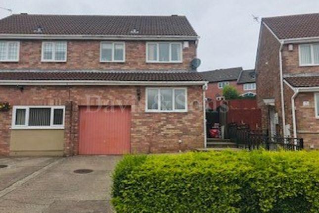 Thumbnail Semi-detached house for sale in Mill Heath, Bettws, Newport.
