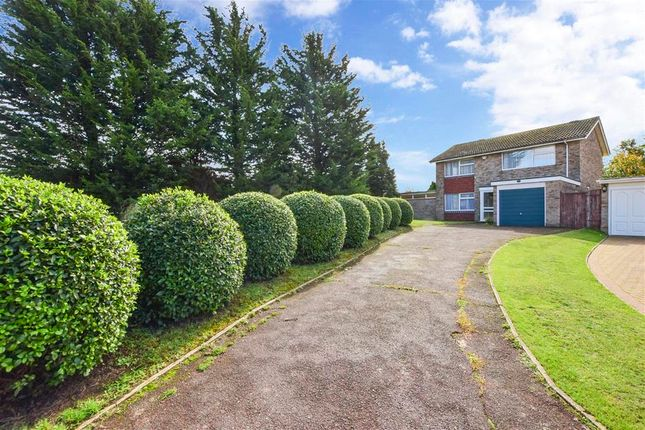Thumbnail Detached house for sale in Philip Avenue, Swanley, Kent