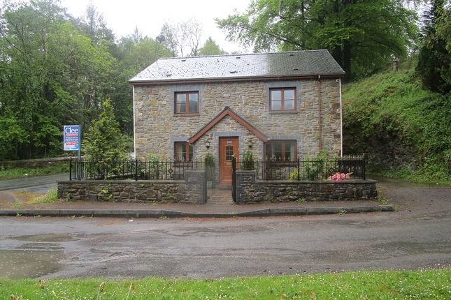 Thumbnail Detached house for sale in Station Road, Caehopkin, Abercrave, Swansea.
