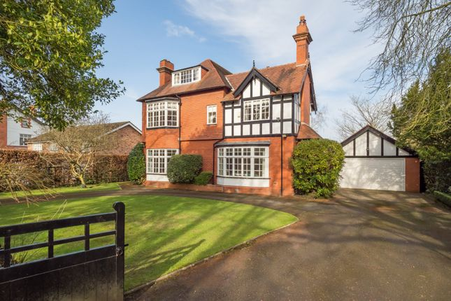Thumbnail Detached house for sale in Leicester Road, Hale, Altrincham