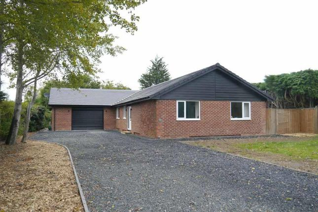 Thumbnail Detached bungalow for sale in Stonehaugh Way, Ponteland, Newcastle Upon Tyne