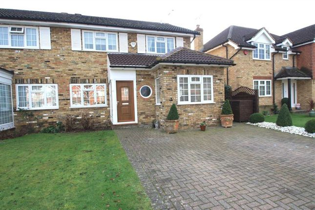 Thumbnail Semi-detached house for sale in The Birches, Bushey