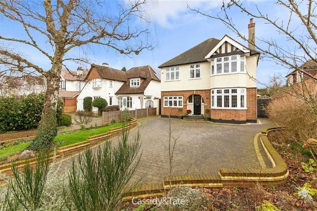 Thumbnail Detached house for sale in Beaumont Avenue, St Albans, Hertfordshire