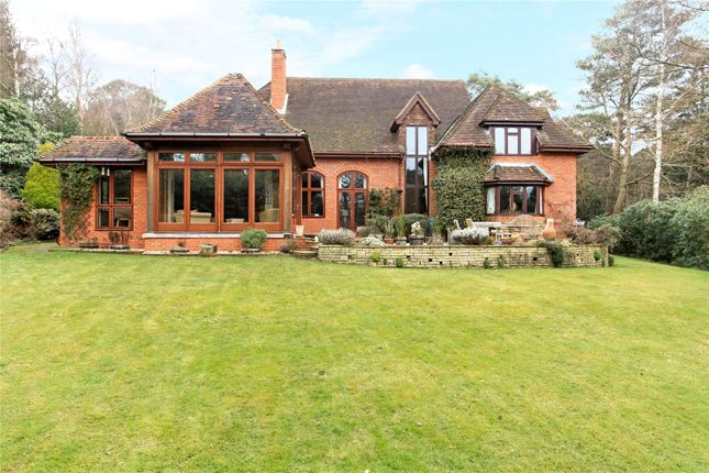 Thumbnail Detached house for sale in Swifts Close, Farnham, Surrey