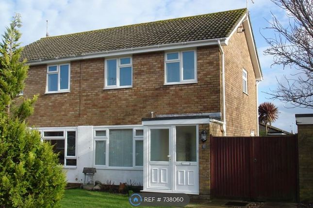 Thumbnail Semi-detached house to rent in Hudson Close, Worthing