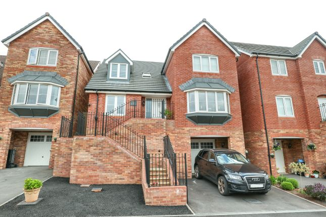 Thumbnail Detached house for sale in Cwrt Bevan, Merthyr Tydfil