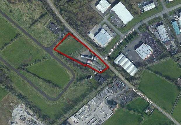 Thumbnail Land for sale in Woodside Road, Ballymena, County Antrim