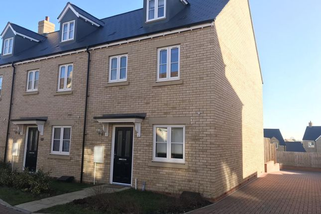 Thumbnail End terrace house for sale in Howes Lane, Chipping Norton